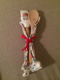 Cath Kidston baking set with tags NEW