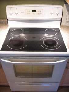 sears kenmore stove with ceramic top for sale