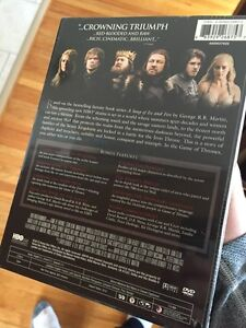 Game of Thrones The Complete First Season  Windsor Region Ontario image 2