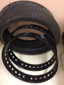 State Bicycle Megalith Rims and Tires