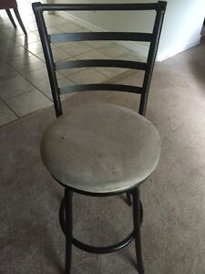 Swivel chair bar stool