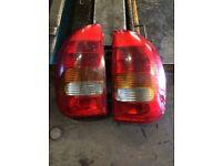 Corsa B rear lights