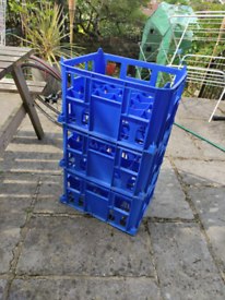 3x beer/milk crates homebrew free to collect