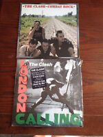 Lot de 2 albums, vinyles **THE CLASH ** 2 Vinyl Record Albums