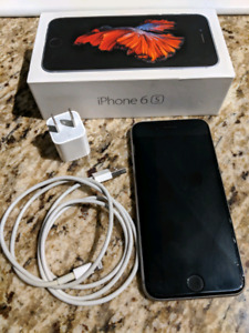 Apple iPhone 6s, 16 gb, space grey, with charger