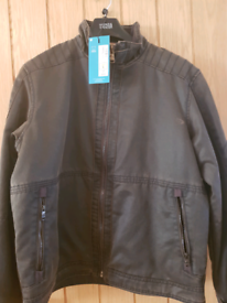 M&S Mens leather jacket