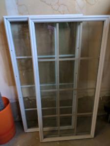 3/4 glass door inserts