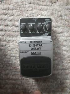 Behringer DD400 Digital Delay Guitar pedal