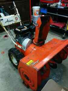 "Ariens 32"" snow blower - new motor"
