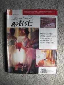 Selling International Artist magazines