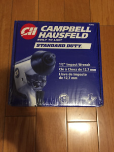 Brand new 1/2 impact wrench Campbell Hausfeld air tool
