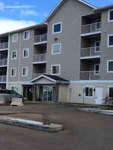 Stony Plain 2 bedroom 2 bathrooms, top floor close to everything