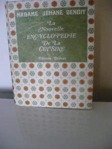 ENCYCLOPÉDIE DE LA CUISINE