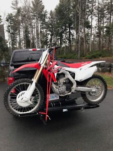 Virtually new Honda CRF