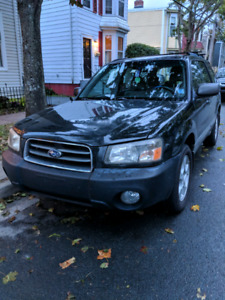 *Reduced!* 2004 Subaru Forester XS