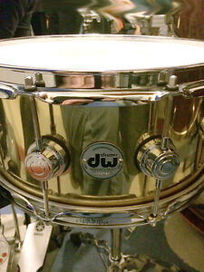 DW Brass Collector Series snare