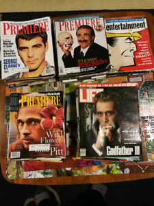 Premiere, and other movie magazines