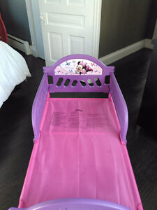 2 toddler beds minnie mouse and cars London Ontario image 1