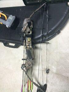 Compound bow hunting Martin Jaguar Magnum