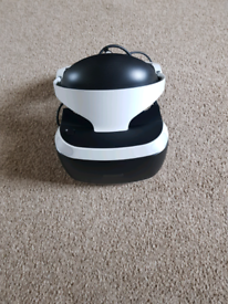 PS VR in box with game