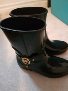 Michael Kors rain boots (never worn)