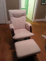 Glider and Ottoman like new!