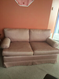 Comfy Pink Loveseat