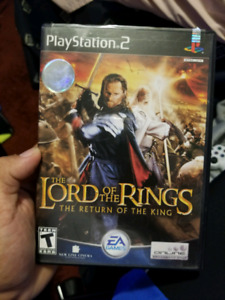 Lord of the rings return of the king for ps2