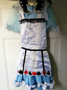 Alice in Wonderland costume Adult Size 12-14