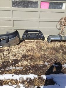 2013 duramax front and rear bumpers with bush bar