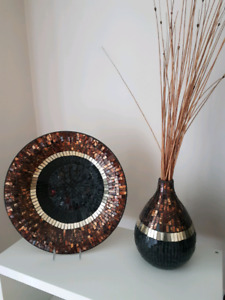 Beautiful Decorative Plate and Vase