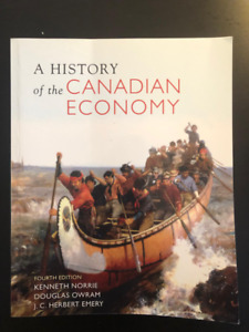 A history of the canadian economy