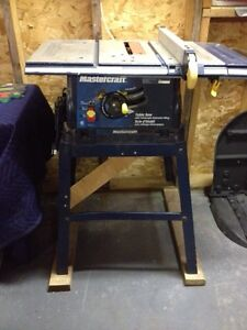 Mastercraft tablesaw for sale