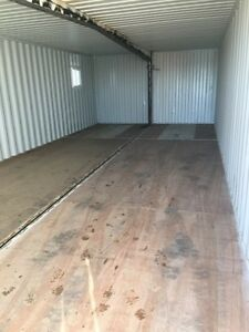 Double wide container shop