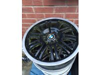 Bmw e46 alloys sets of 2s