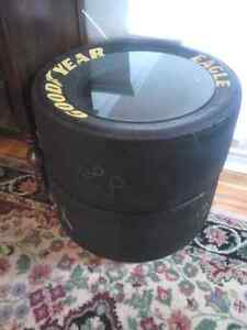 NASCAR DALE JR TIRES 88  .makes a nice glass top table.