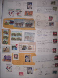 Stamp Collection from Canada, Group G