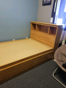 Captains bed and matching dresser