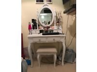 Lila Dressing Table and Stool