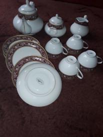 🌟NEW🌟 Unused Waterside Collection China Tea Set