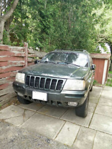 2000 Jeep Grand Cherokee v8 Limited Edition