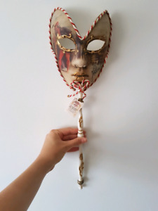 Original Venetian mask, hand painted