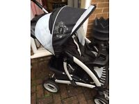 3 x Graco pram pushchair stroller buggy