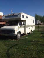1978 chevy 21ft motorhome