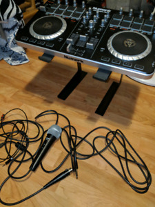 Beginner DJ Set - Numark Mixtrack Pro 2 with Mic and Stand