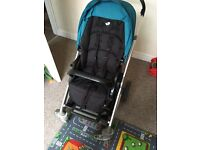 Joie chrome push chair