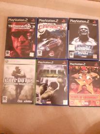 Various Playstation 2 games all VGC £2 each
