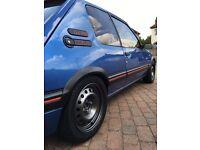 1990 Peugeot 205 GTI - Miami Blue - GTI6 Conversion 2.0 16v
