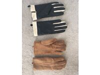 Two pairs ladies gloves