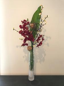 Bouquet décoration fleurs articielles